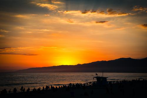 サンタモニカ:サンセット