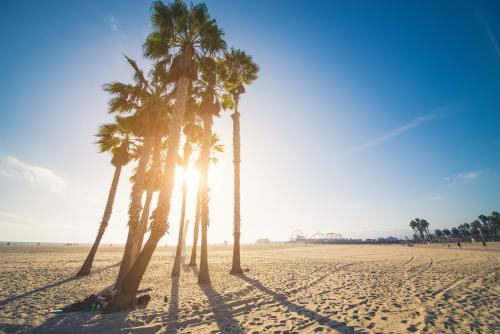 サンタモニカビーチ