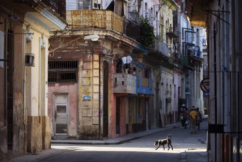 ハバナの街並み(キューバ)