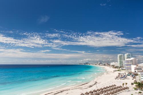 カンクンの美しいビーチ