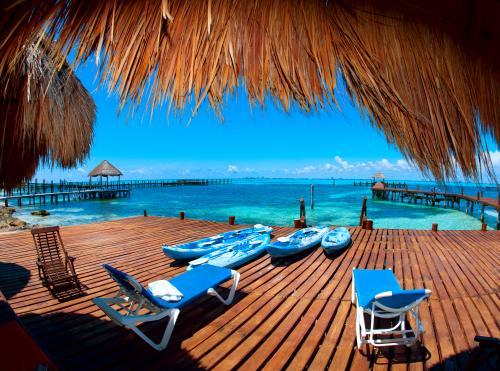 カリブ海の海(カンクン)