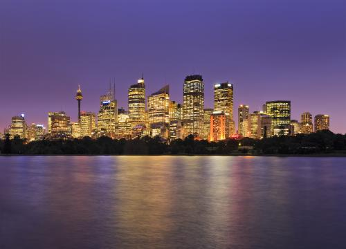 シドニーの夜景