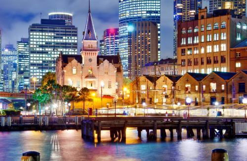 シドニーの歴史的な街・ロックス