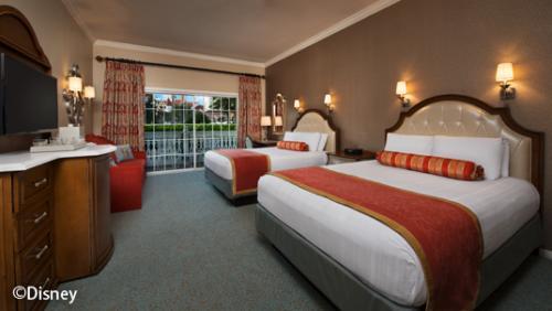 ディズニー・グランド・フロリディアン・リゾート&スパ スタンダードルーム(一例)