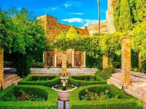 ◇◎マラガ:アルカサバの庭園