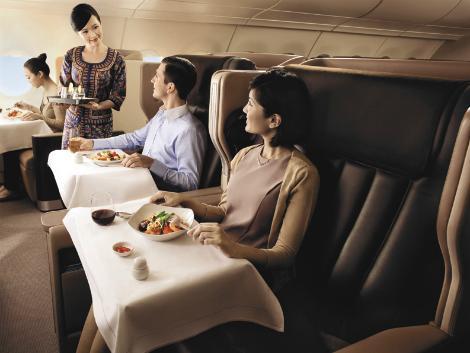 シンガポール航空 ビジネスクラス イメージ
