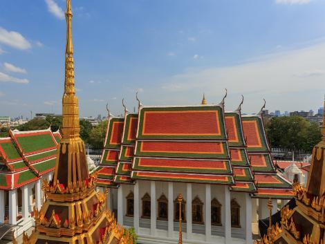 バンコク:最も格式の高い寺院 ワットプラケオ