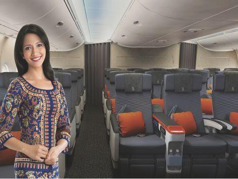 シンガポール航空 プレミアムエコノミークラス