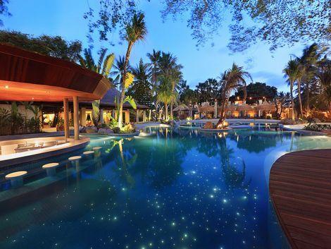 バリ マンディラ ビーチ リゾート&スパ  プール