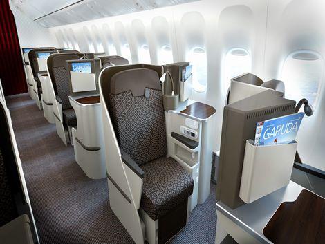 ガルーダインドネシア航空 ビジネスクラス イメージ