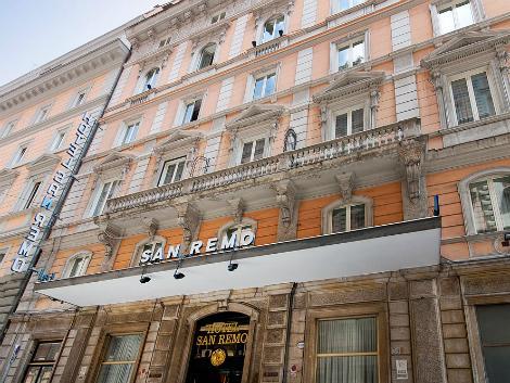 ローマ:ホテル サン レモ 外観
