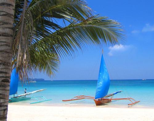 ボラカイ島 バンカーボート イメージ