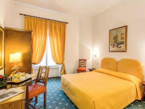 フィレンツェ:サン ジョルジオ & オリンピック 客室一例