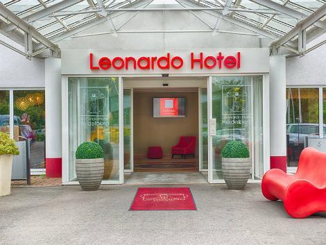 ハイデルベルク:レオナルド ホテル ハイデルベルク エントランス
