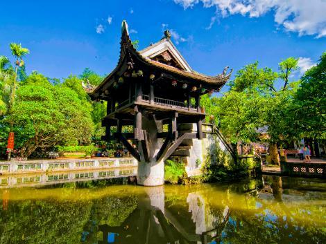 ハノイ:一柱寺