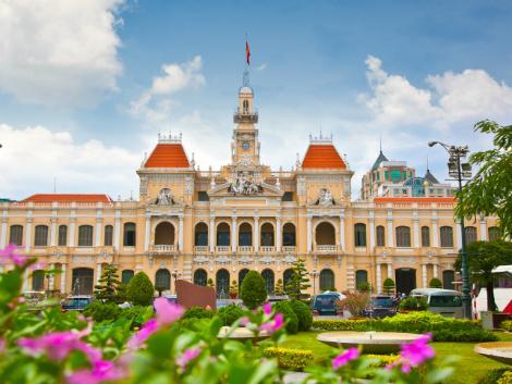 ホーチミン:人民委員会庁舎