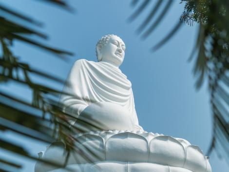ニャチャン:ロンソン寺の仏像