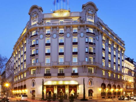 バルセロナ:エル パレス ホテル 外観