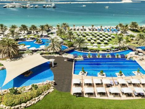 ドバイ:ウエスティン ドバイ ミナ セヤヒ ビーチ リゾート & マリーナ プール