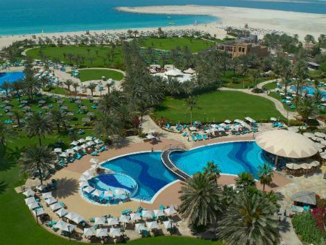 ドバイ:ル ロイヤル メリディアン ビーチ リゾート アンド スパ プール