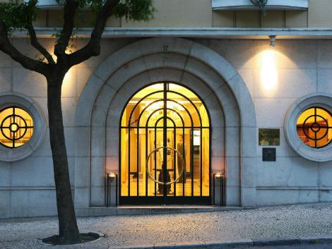 リスボン:ホテル ブリタニア エントランス