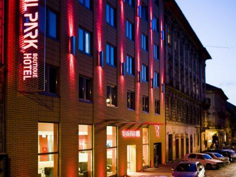 ブダペスト:ロイヤル パーク ブティック ホテル 外観