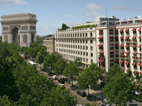 パリ:ホテル ナポレオン 外観