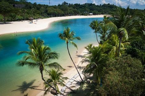 セントーサ島:ビーチ