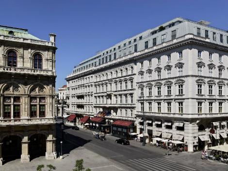 ウィーン:ホテル ザッハー 外観