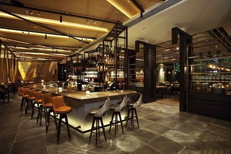 シンガポール:マリーナベイサンズ Adrift by David Myers Bar/提供:Marina Bay Sands