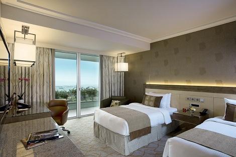 シンガポール:マリーナベイサンズ Deluxe Garden View Room 客室一例/提供:Marina Bay Sands