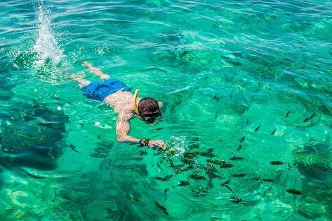 ピピ島:シュノーケリング