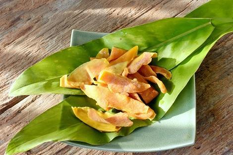 フィリピン:お土産の定番 ドライマンゴー