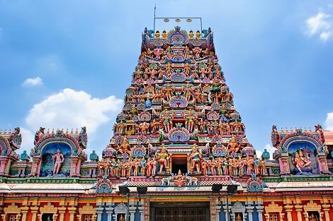 クアラルンプール:スリ マハ マリアマン寺院