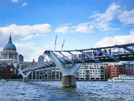◇◎ロンドン:ミレニアム・ブリッジ