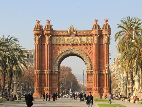 ◇◎バルセロナ:バルセロナ凱旋門