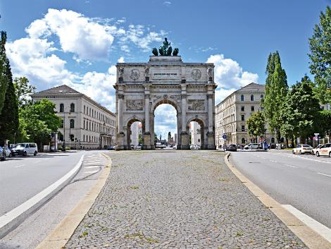 ◇◎ミュンヘン:勝利の門