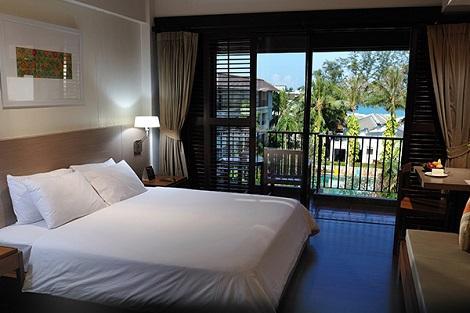 プーケット:バンタイ ビーチ リゾート & スパ 客室一例