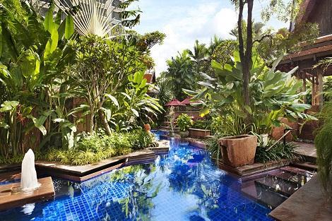 バンコク:シェラトン グランデ スクンビット プール