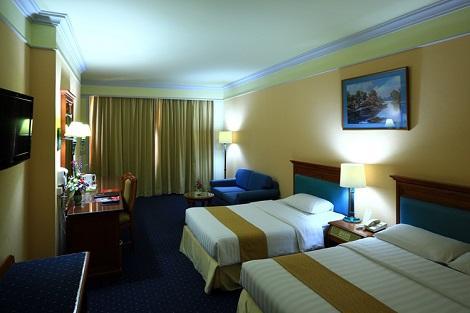 バンコク:ロイヤル ベンジャ ホテル 客室一例