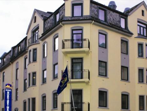 ベルゲン:ベスト ウエスタン ホテル ホルダヘイメン 外観