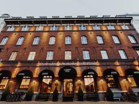 コペンハーゲン:アスコット ホテル 外観
