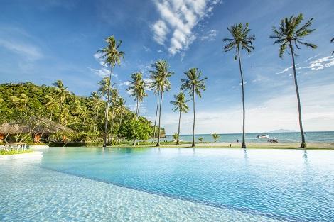 ピピ島:ピピ アイランド ヴィレッジ ビーチ リゾート プール