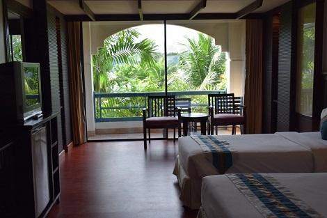 ピピ島:ピピ アイランド カバナ ホテル 客室一例