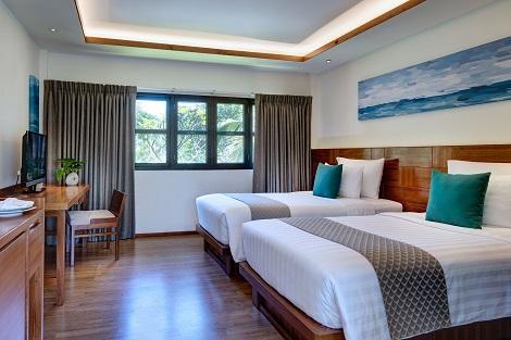 ピピ島:ピピ アイランド ヴィレッジ ビーチ リゾート 客室一例