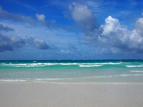 ボラカイ島 ステーション1のビーチ