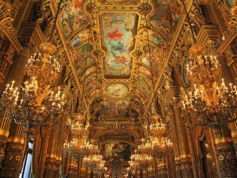 ◇パリ:オペラ・ガルニエ 内部