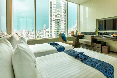 バンコク:グランデ センターポイント スクンビット ターミナル 21 客室一例