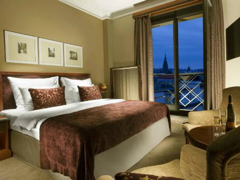 プラハ:ヤルタ ホテル プラハ 客室一例
