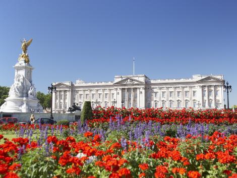 ◇◎ロンドン:バッキンガム宮殿